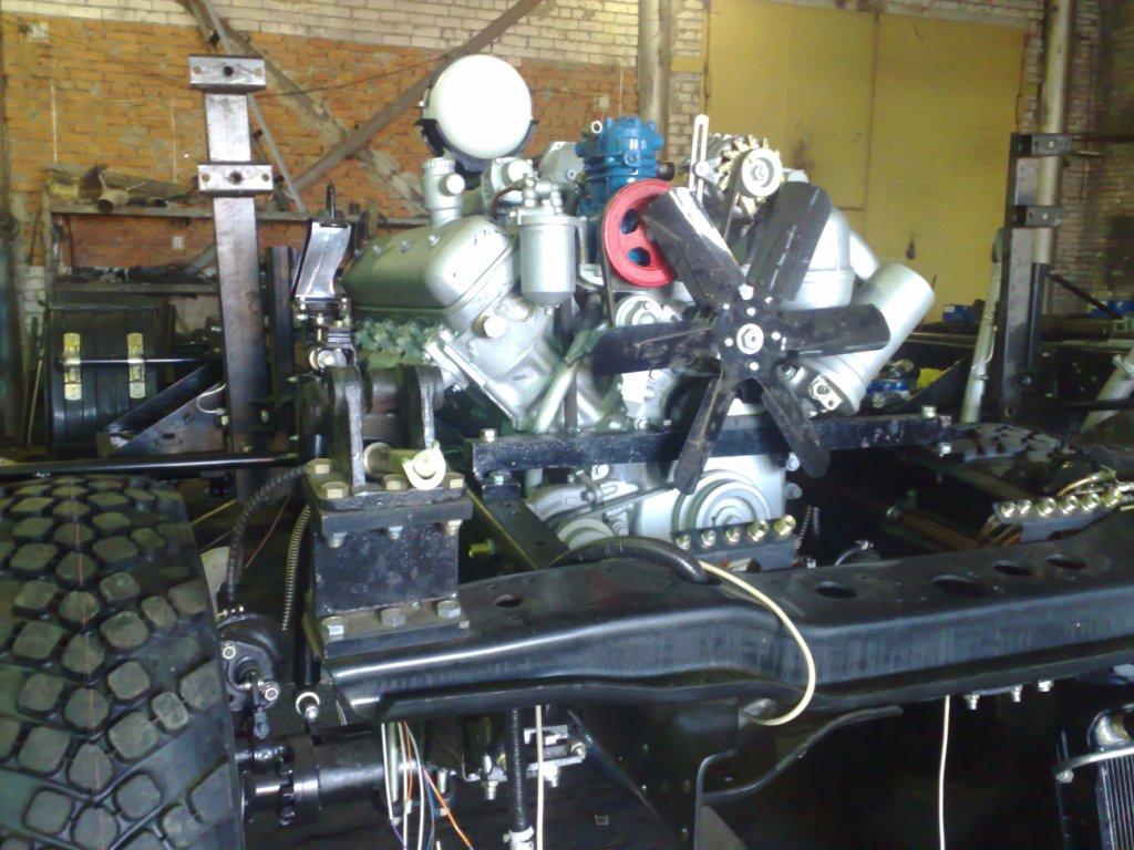 Подвеска силового агрегата ЯМЗ