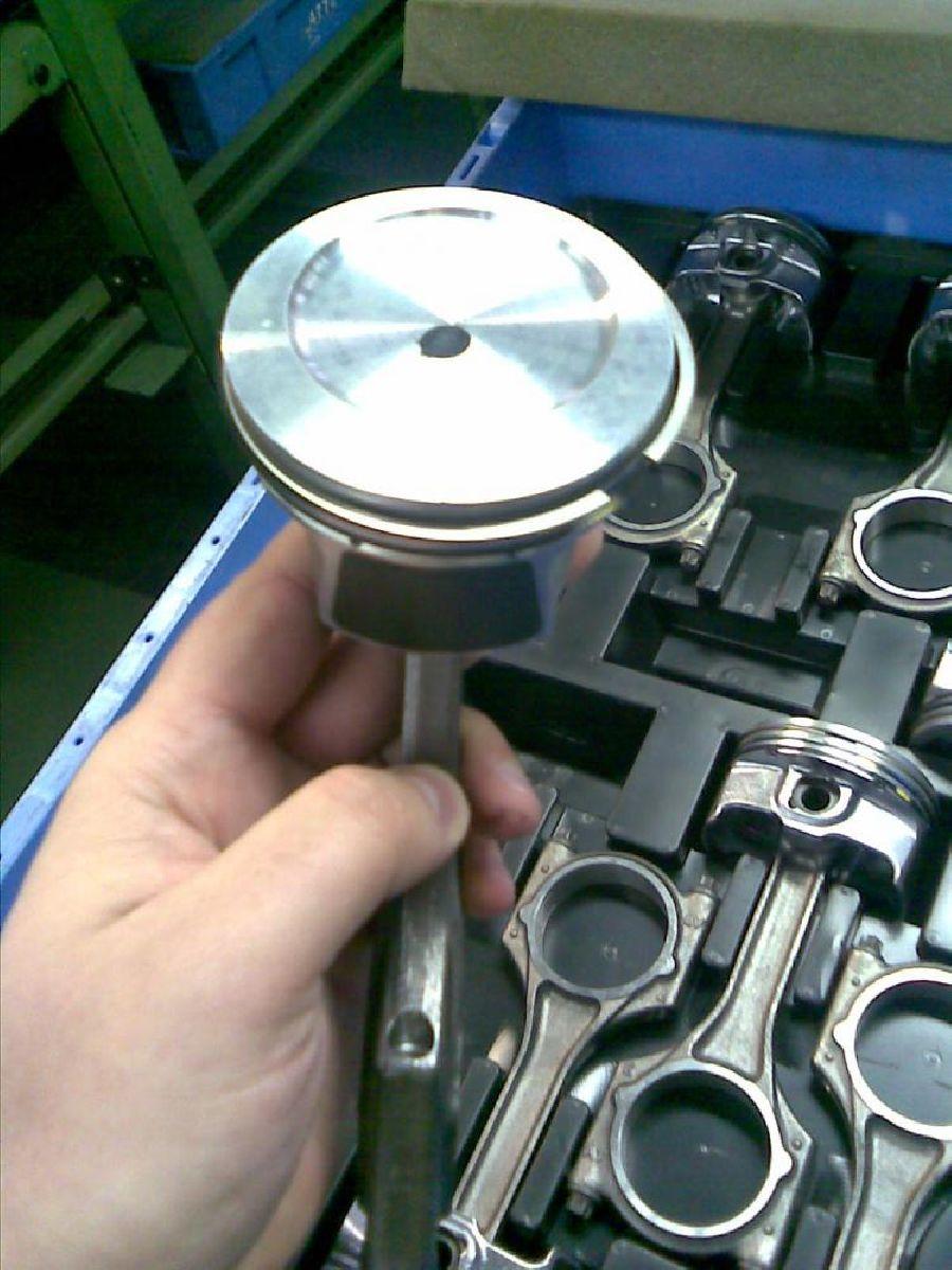 Шатунно-поршневая группа двигателя