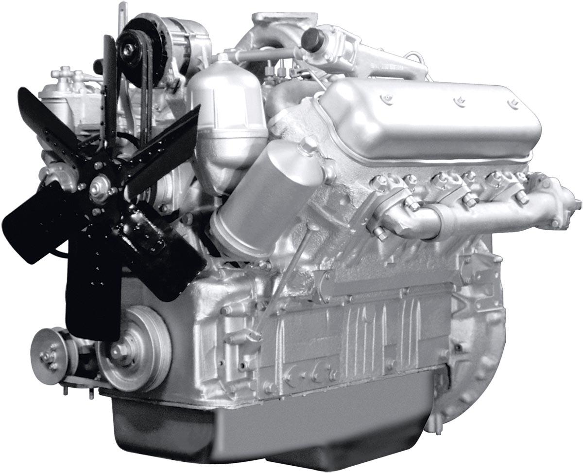 Двигатель ЯМЗ-236А