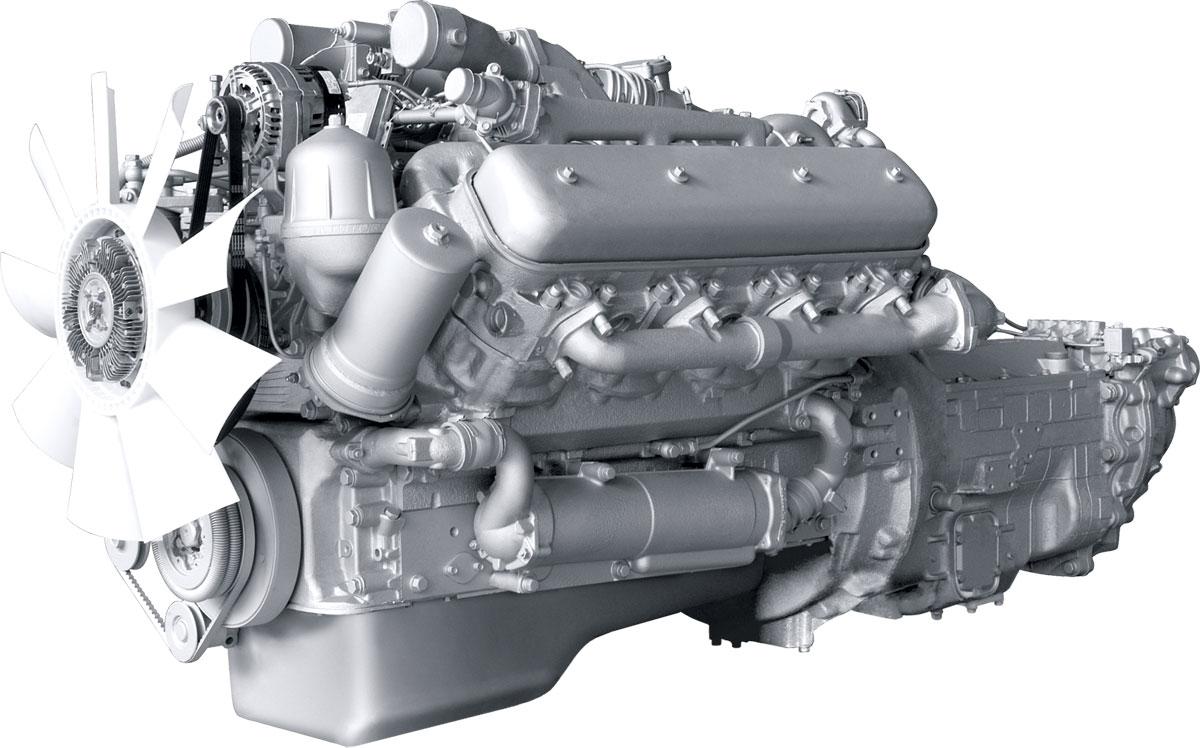 Двигатель ЯМЗ - 6562