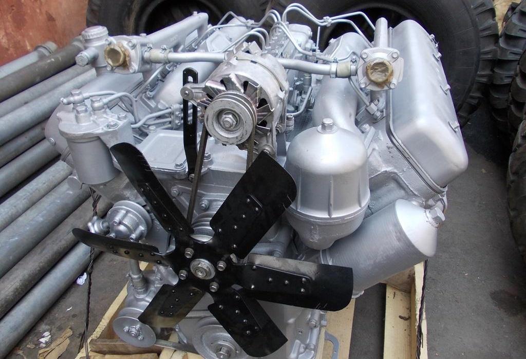 двигатель ЯМЗ-238М