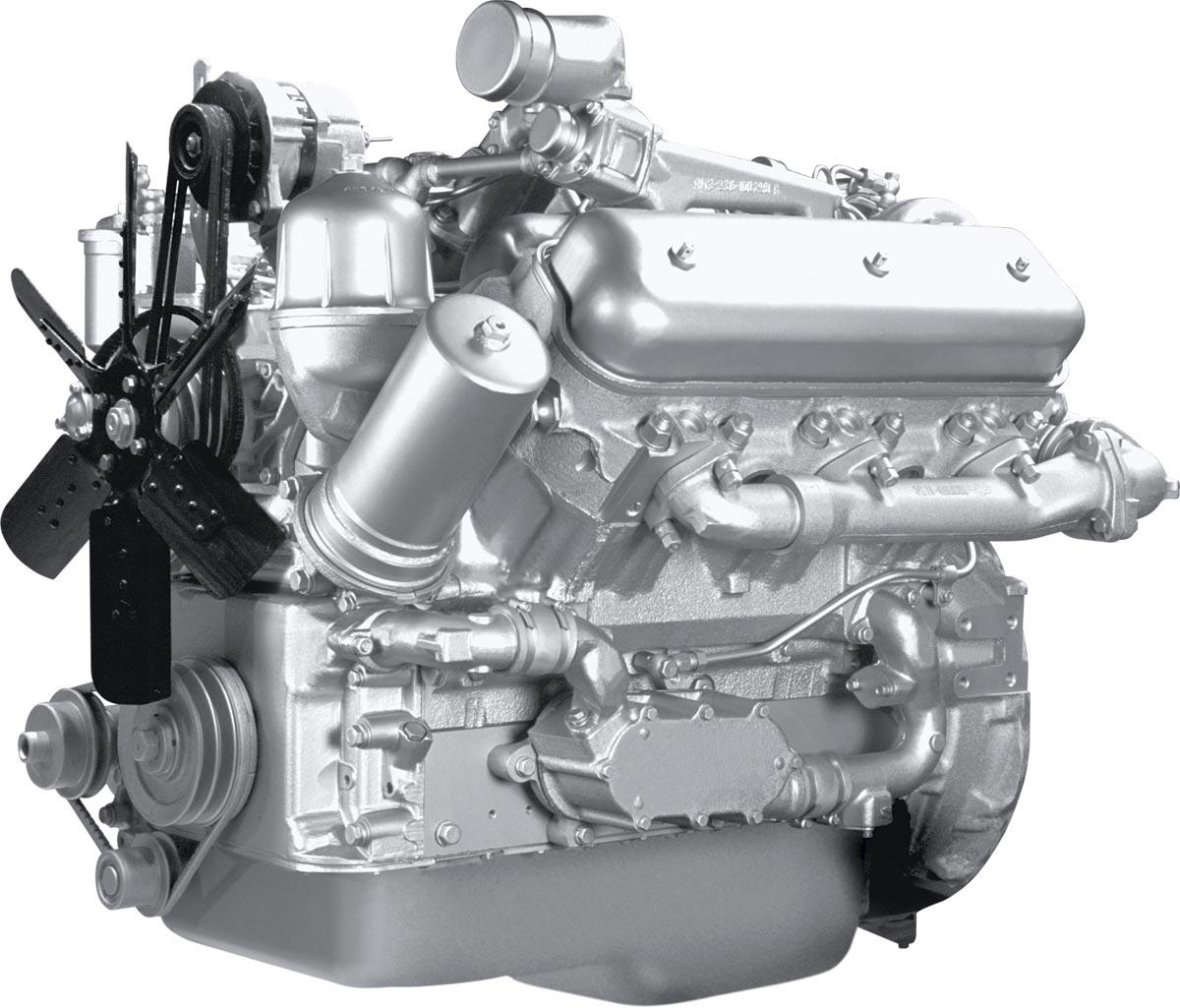 Двигатель ЯМЗ-236НК V6 с турбонаддувом