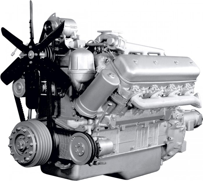 Двигатель ЯМЗ-238М2 V8