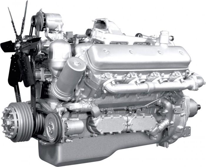 Двигатель ЯМЗ-238НД V8 с турбонаддувом