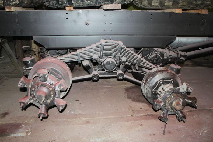 Задняя подвеска КрАЗ 255Б1