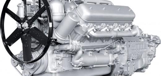 Двигатель ЯМЗ-238ДЕ2 V8 с турбонаддувом