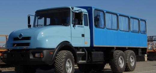 Вахтовый автобус Урал