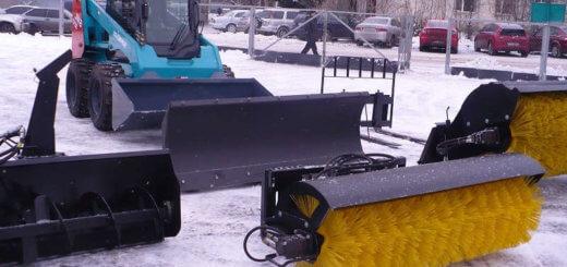 Навесное оборудование для дорожных машин