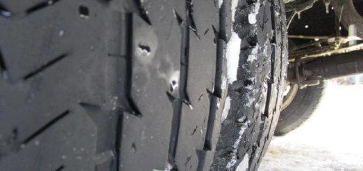 Запрет грузовикам ездить на летней резине