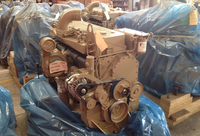 Двигатель CUMMINS QSМ11