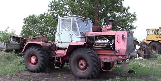 Трактор Т-150 видео
