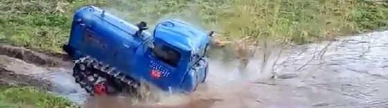 Психи на Советских тракторах