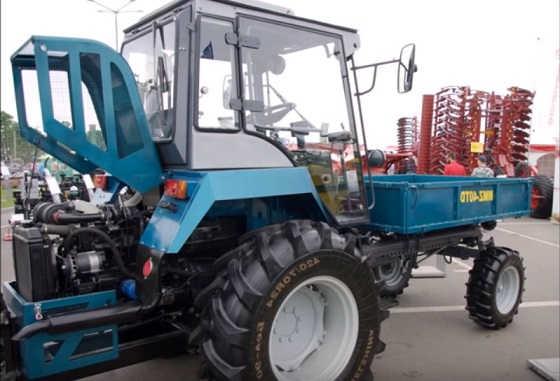 Советский трактор Т -16 второе рождение