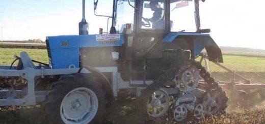 """Испытание трактора """"Беларус-80.1"""""""