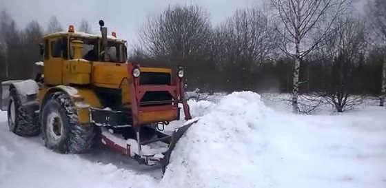 К 701 Чистка снега