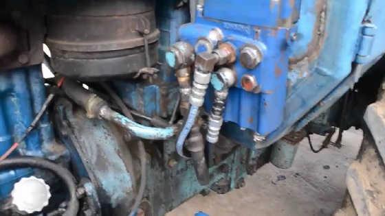 Переделки рычага на МТЗ-80