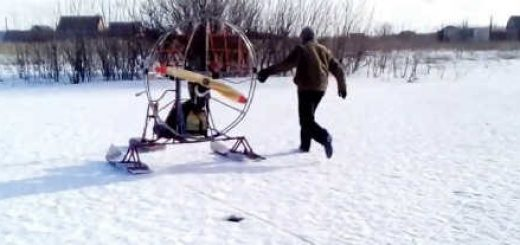 Самодельные аэросани