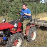 Беларус МТЗ 082 и автоприцеп
