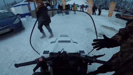 Снегоход Буран Лидер