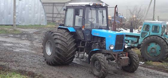 Шины низкого давления для трактора МТЗ