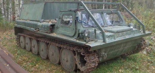 Нашли в лесу ГАЗ-71