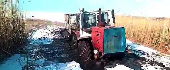 Кировец тонет