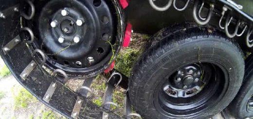 Обзор гусеничного вездехода