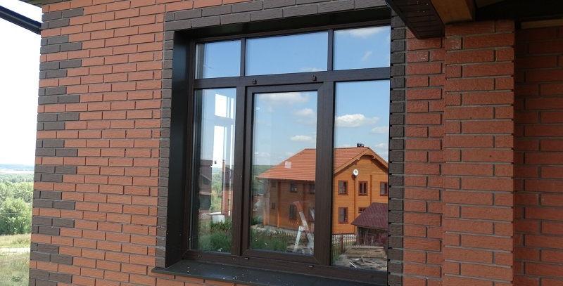 Окна ПВХ ламинированные