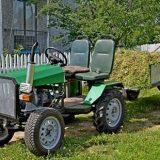 Самодельный полноприводный трактор 4х4