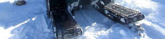 Скат-2 снегоход-вездеход