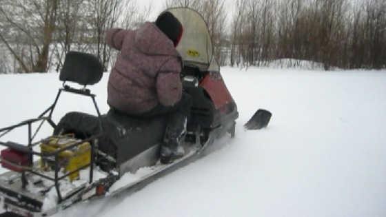 Двигатель Лифан на снегоходе Тайга