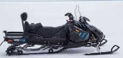 Снегоход RM с двигателем Suzuki