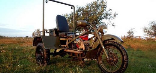Трицикл с китайским двигателем