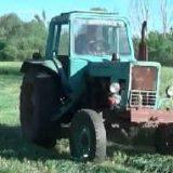 Заготовка сена в сельской местности