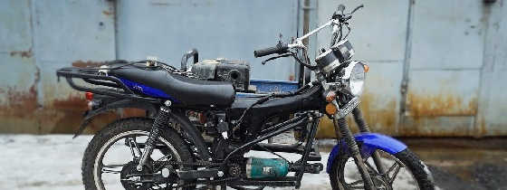 БОЛГАРКА вместо ДВИГАТЕЛЯ на мотоцикл