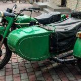 Конусные глушители на мотоцикле Урал