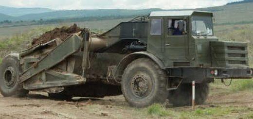 СКРЕПЕР МОАЗ