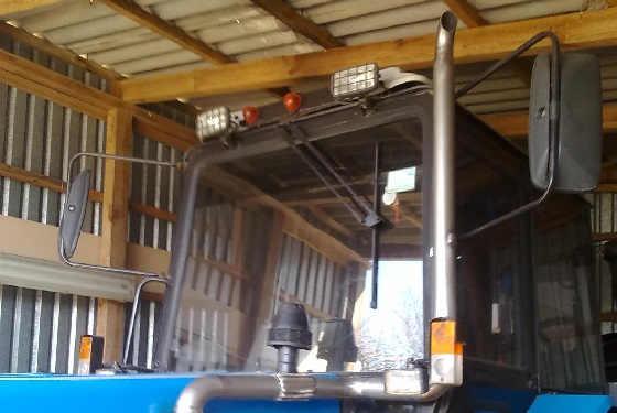 Модернизированная выхлопная труба на МТЗ 892