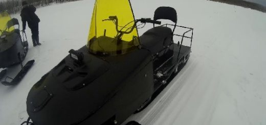 Обзор снегохода SM-002