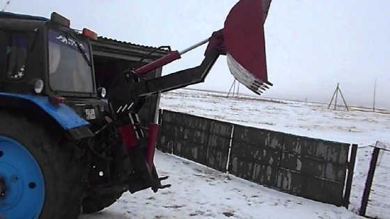 Погрузчик на заднюю навеску трактора
