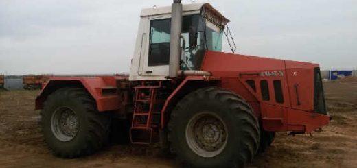 Трактор К-744р3 и сеялка СЗП-3,6
