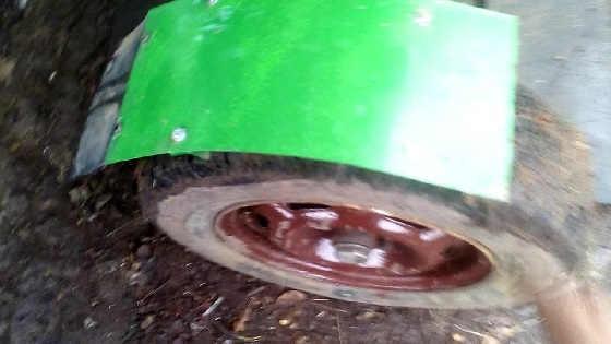 Самодельный трактор Радомир