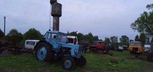 Кладбище сельхозтехники