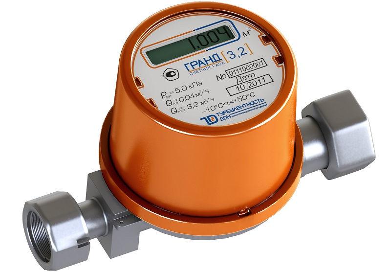 Современные газовые счетчики