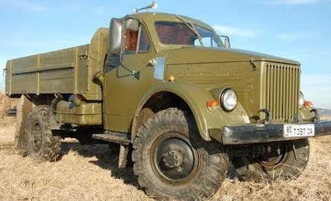 ГАЗ 63 + ISUZU TROOPER