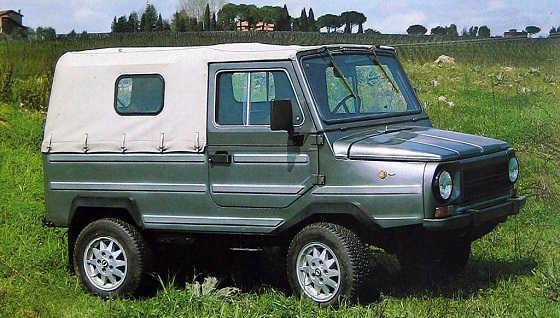 Дизельный ЛуАЗ 4x4