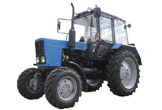 Новые трактора Беларус-82