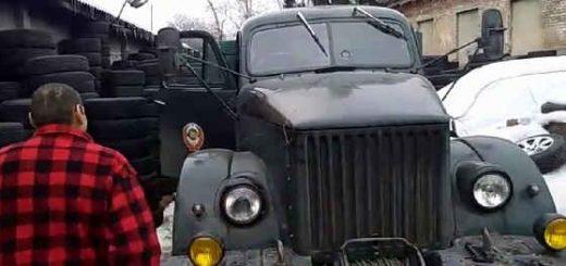 ГАЗ-63 дизель Mercedes om314