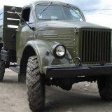 ГАЗ 63 в идеальном состоянии