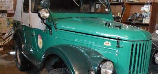 ГАЗ-69 с редким двигателем